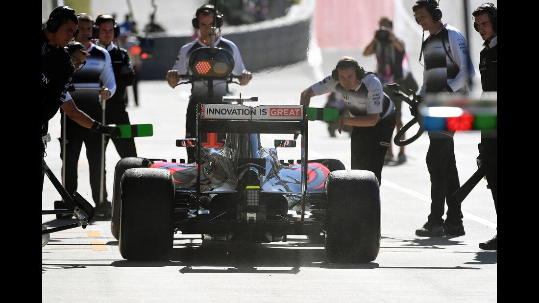 Jenson Button - McLaren - Formel 1 - GP USA - Austin - 21. Oktober 2016
