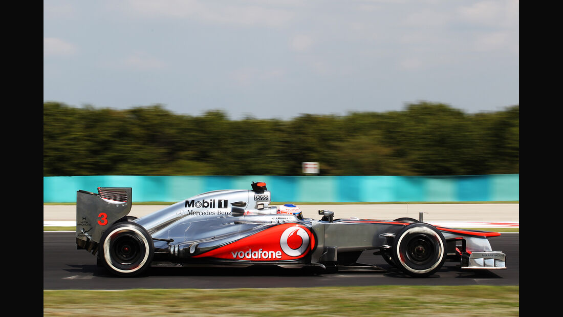 Jenson Button - McLaren - Formel 1 - GP Ungarn - Budapest - 28. Juli 2012