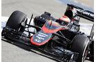 Jenson Button - McLaren - Formel 1-Test - Barcelona - 13. Mai 2015
