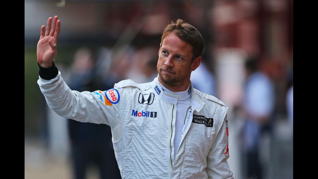 Jenson Button - McLaren - Formel 1-Test - Barcelona - 21. Februar 2015