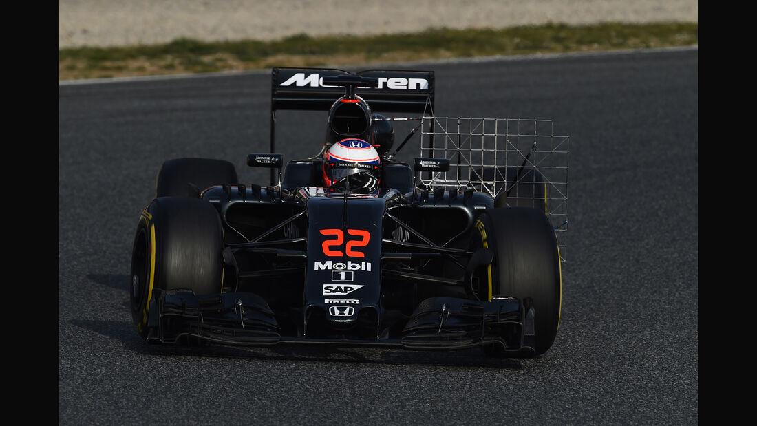 Jenson Button - McLaren - Formel 1-Test - Barcelona - 24. Februar 2016