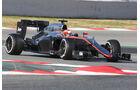 Jenson Button - McLaren  Formel 1-Test - Barcelona - 26. Februar 2015