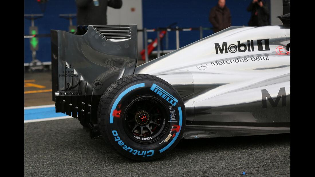 Jenson Button - McLaren - Formel 1 - Test - Jerez - 29. Januar 2014