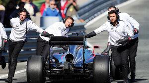 Jenson Button - McLaren - Formel 1-Test - Jerez - 4. Februar 2015