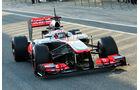 Jenson Button, McLaren, Formel 1-Test, Jerez, 5.2.2013