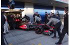 Jenson Button - McLaren - Formel 1 - Test - Jerez - 7. Februar 2013