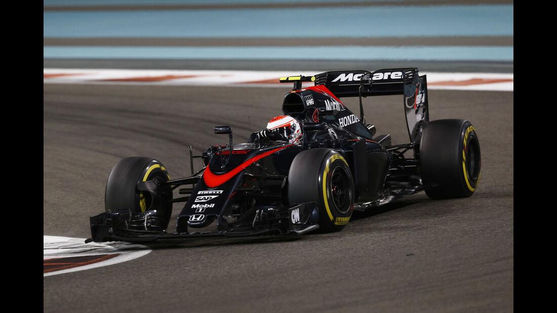 Jenson Button - McLaren - GP Abu Dhabi 2015