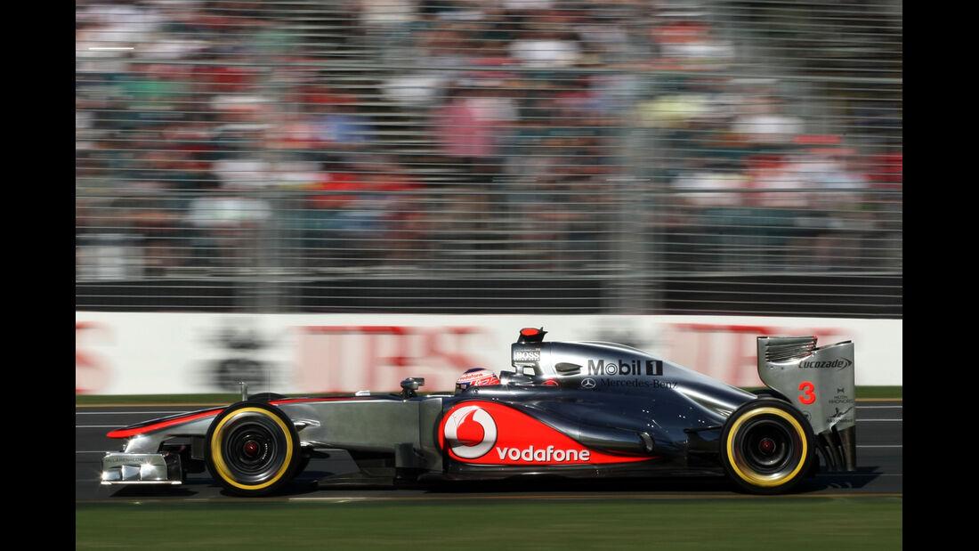 Jenson Button - McLaren - GP Australien - Melbourne - 17. März 2012