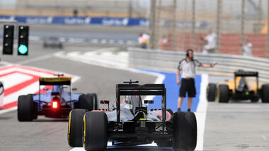 Jenson Button - McLaren - GP Bahrain - Formel 1 - 1. April 2016