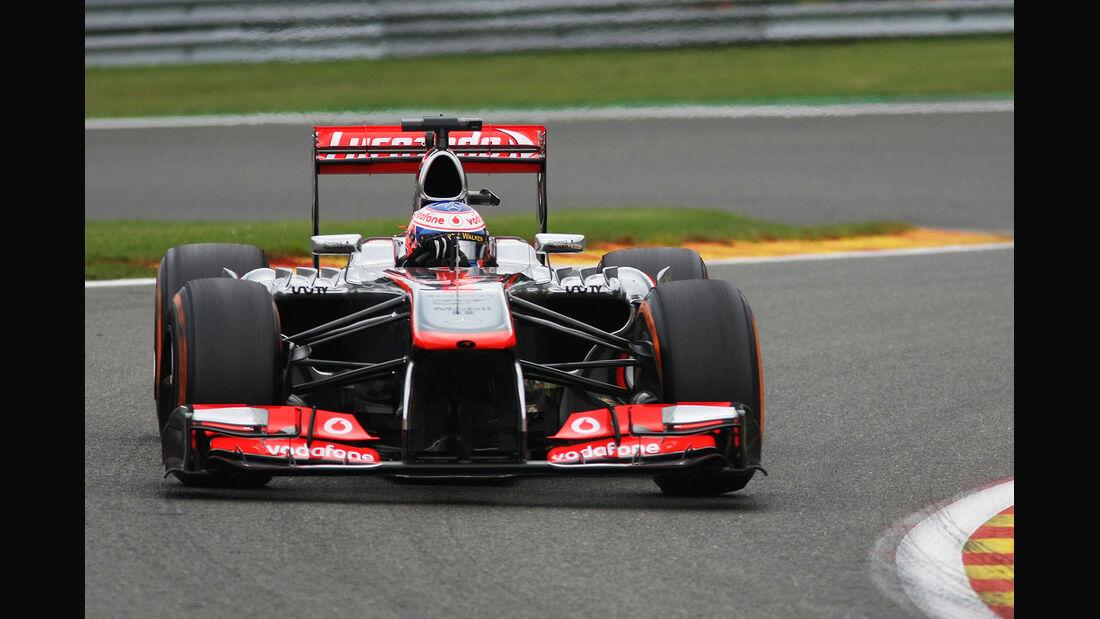 Jenson Button McLaren GP Belgien F1 2013