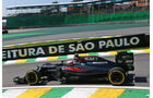 Jenson Button - McLaren - GP Brasilien - Interlagos - Freitag - 11.11.2016