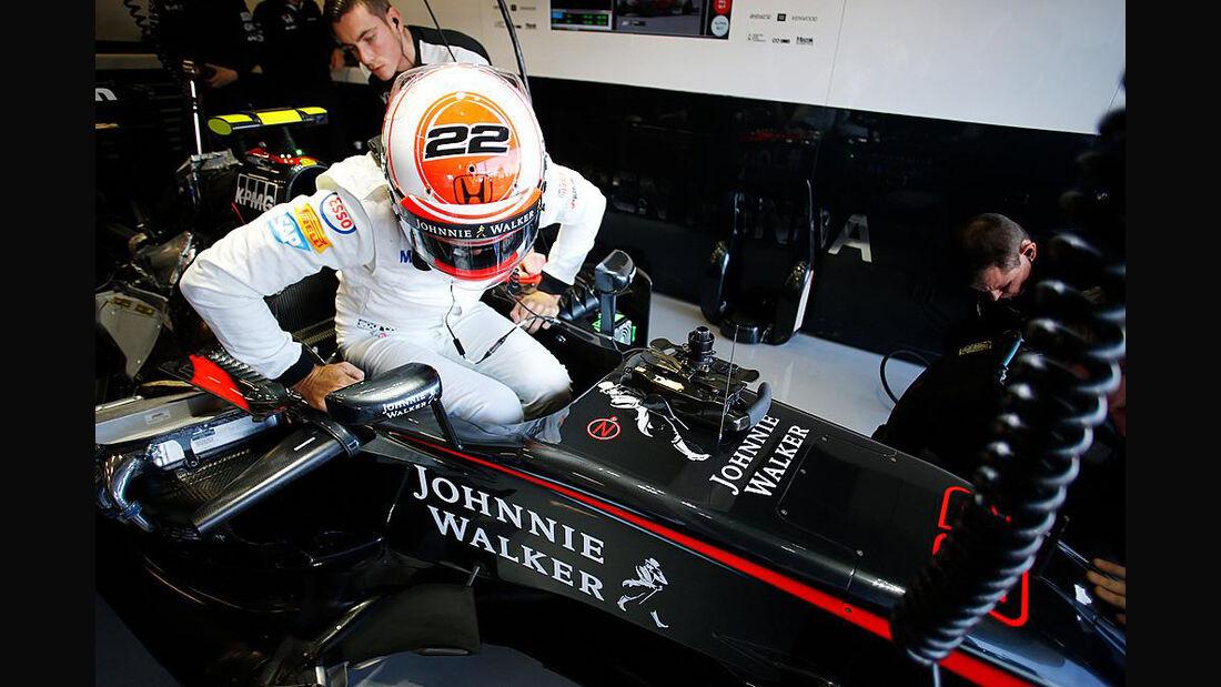 Jenson Button - McLaren - GP England - Silverstone - Freitag - 3.7.2015