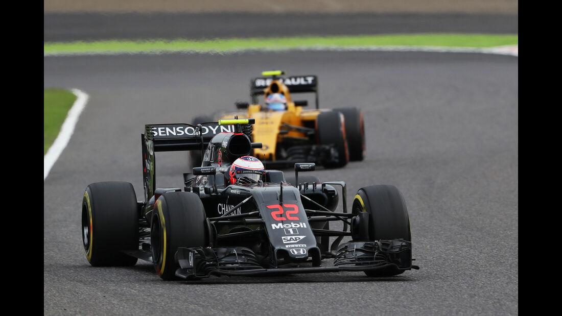 Jenson Button - McLaren - GP Japan 2016 - Suzuka