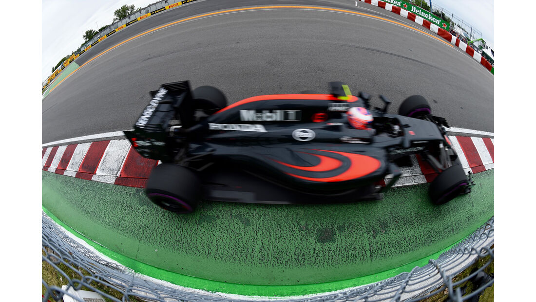 Jenson Button - McLaren - GP Kanada 2016 - Montreal - Qualifying