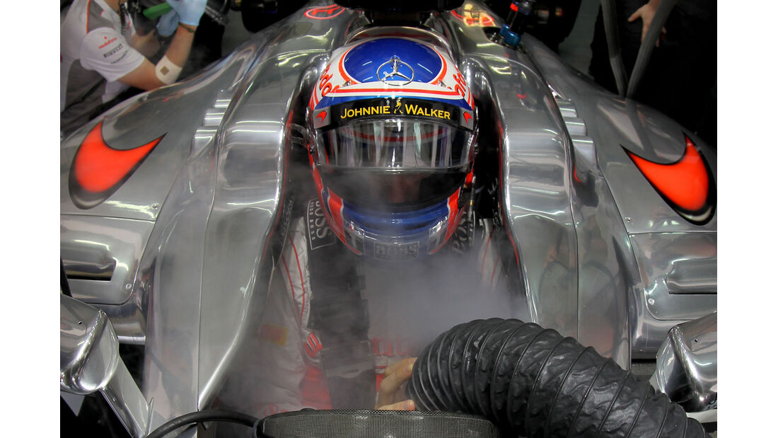 Jenson Button - McLaren - GP Malaysia 2012