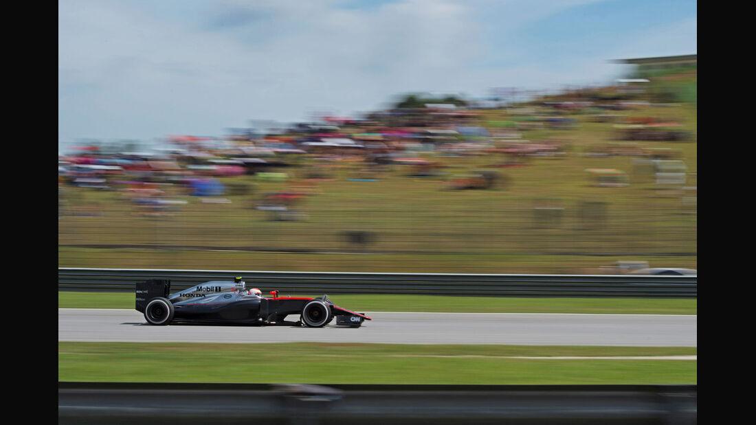Jenson Button - McLaren - GP Malaysia 2015 - Formel 1