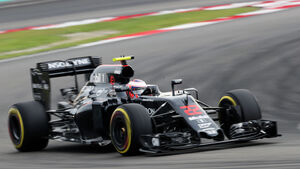 Jenson Button - McLaren - GP Malaysia 2016 - Qualifying