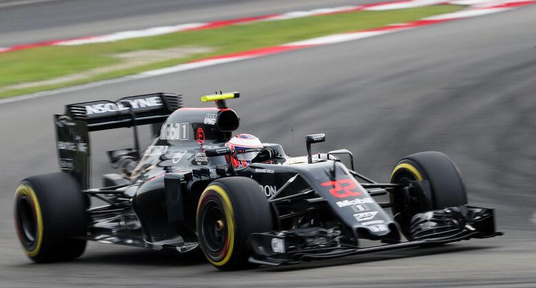 Jenson Button mit starkem Quali