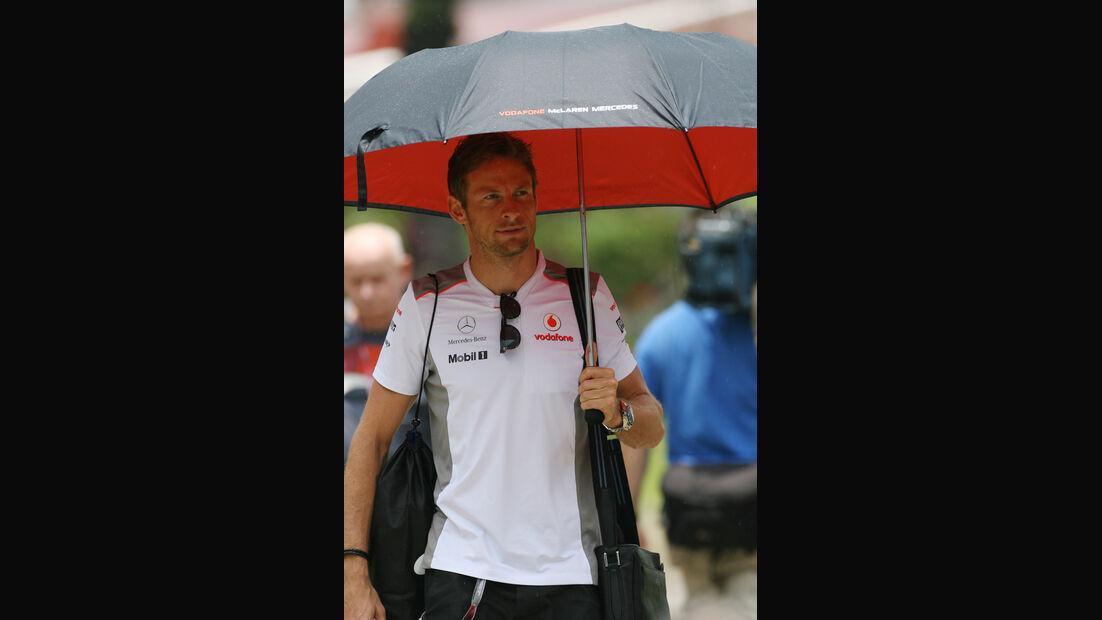 Jenson Button - McLaren - GP Malaysia - 22. März 2012