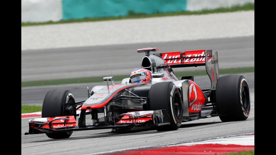 Jenson Button - McLaren - GP Malaysia - 24. März 2012