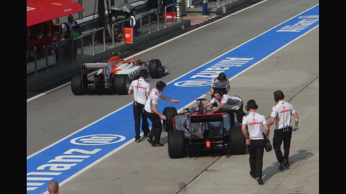 Jenson Button - McLaren - GP Malaysia - Training - 23. März 2012