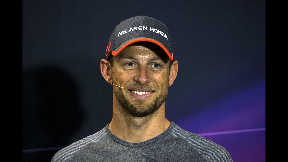 Jenson Button - McLaren - GP Monaco - Formel 1 - 24. Mai 2017
