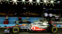 Jenson Button McLaren GP Singapur 2011