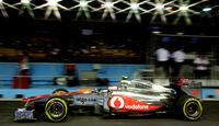 Jenson Button McLaren GP Singapur 2011