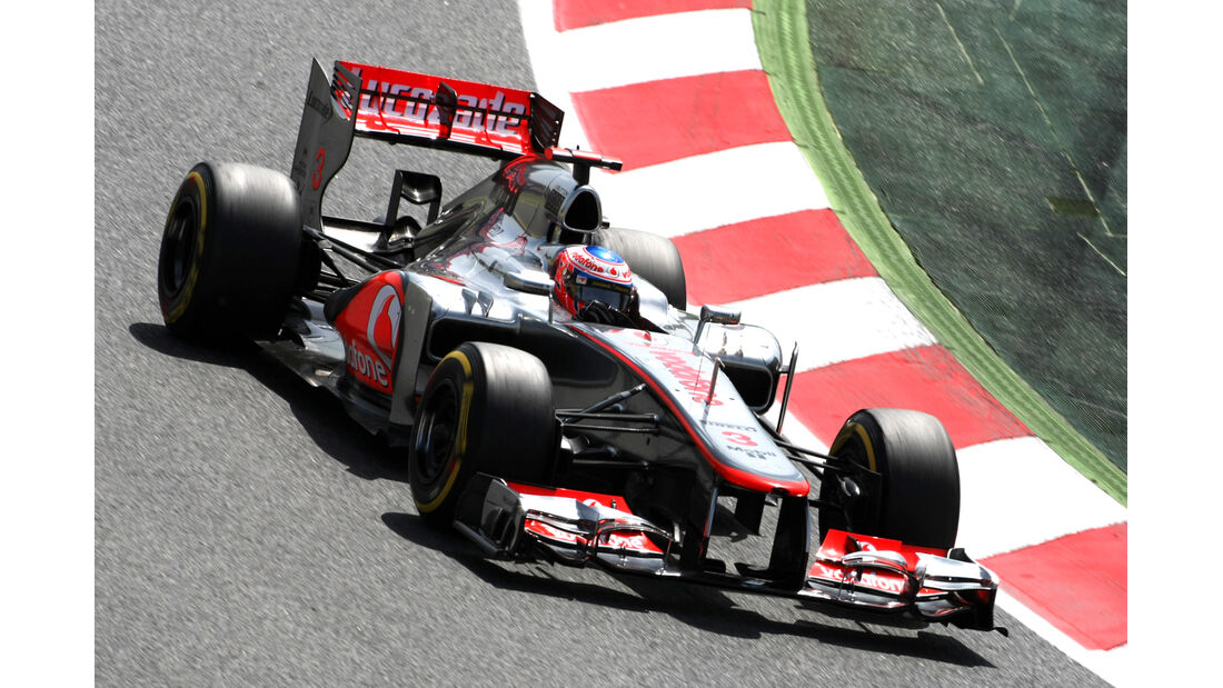 Jenson Button - McLaren - GP Spanien - 12. Mai 2012