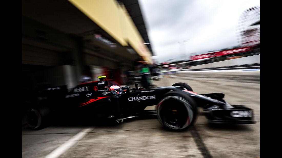 Jenson Button - McLaren-Honda - Formel 1 - GP Japan - Suzuka - Qualifying - Samstag - 8.10.2016