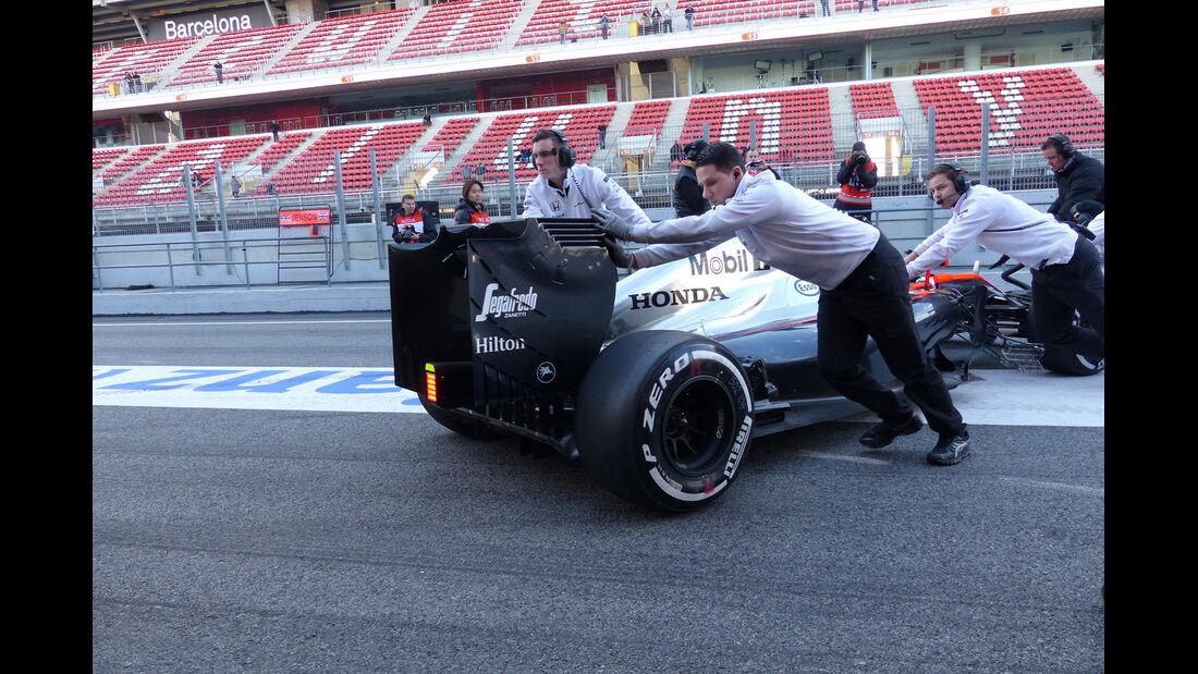Jenson Button - McLaren-Honda - Formel 1-Test - Barcelona - 26. Februar 2015