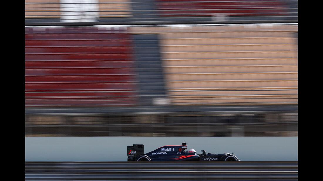 Jenson Button - McLaren-Honda - Formel 1-Test - Barcelona - 4. März 2016