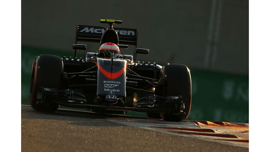 Jenson Button - McLaren-Honda - GP Abu Dhabi 2015