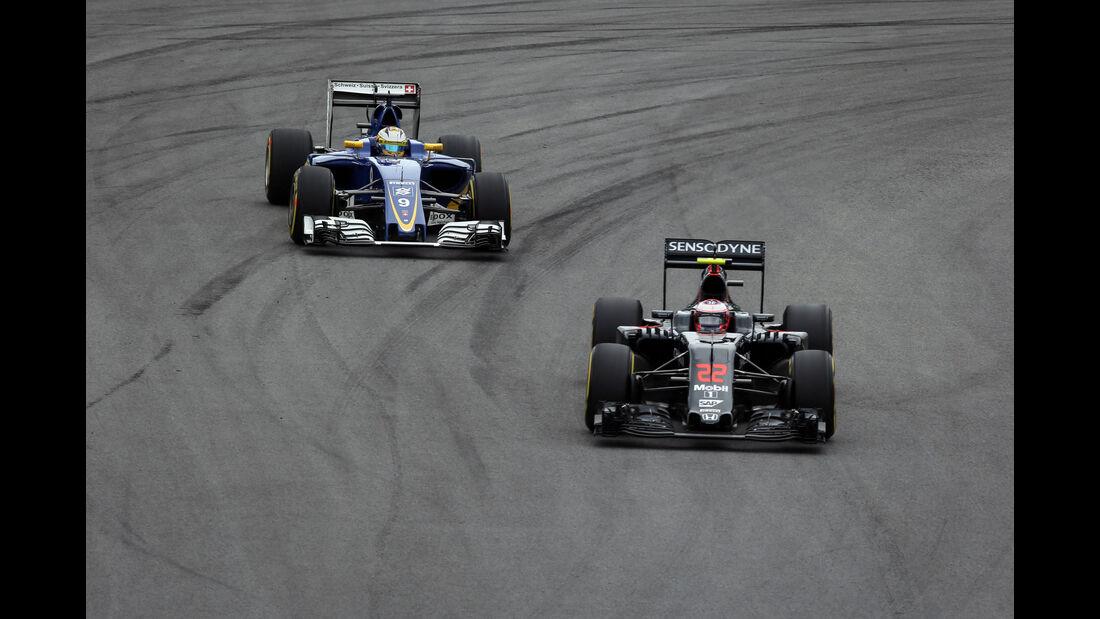 Jenson Button - McLaren-Honda - GP Brasilien 2016 - Interlagos - Qualifying