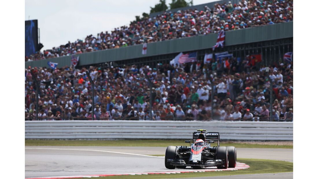 Jenson Button - McLaren-Honda - GP England - Silverstone - Qualifying - Samstag - 4.7.2015