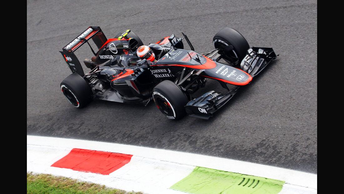 Jenson Button - McLaren-Honda - GP Italien - Monza - Freitag - 4.9.2015