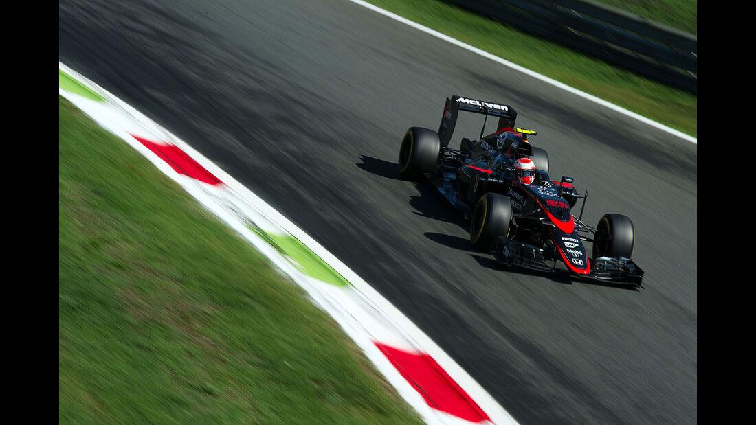 Jenson Button - McLaren-Honda - GP Italien - Monza - Qualifying - 5.9.2015