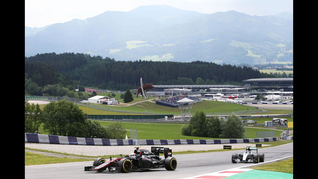 Jenson Button - McLaren-Honda - GP Österreich - Formel 1 - Freitag - 19.6.2015