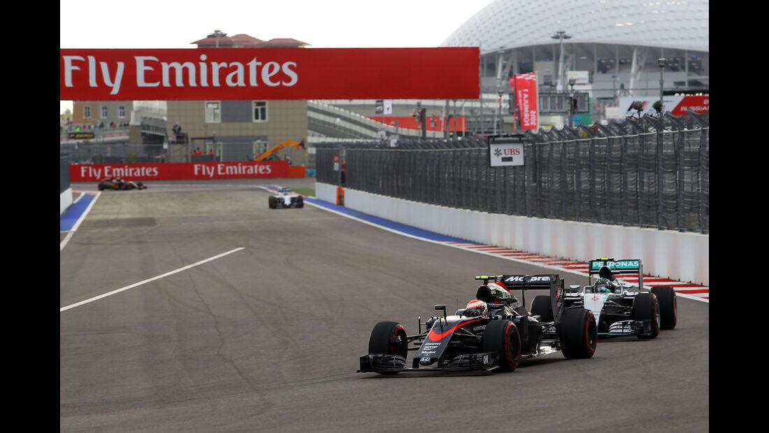 Jenson Button - McLaren-Honda - GP Russland - Qualifying - Samstag - 10.10.2015