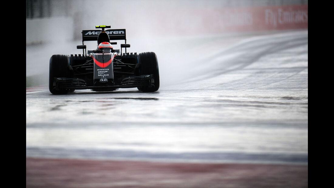 Jenson Button - McLaren-Honda - GP Russland - Sochi - Freitag - 9.10.2015