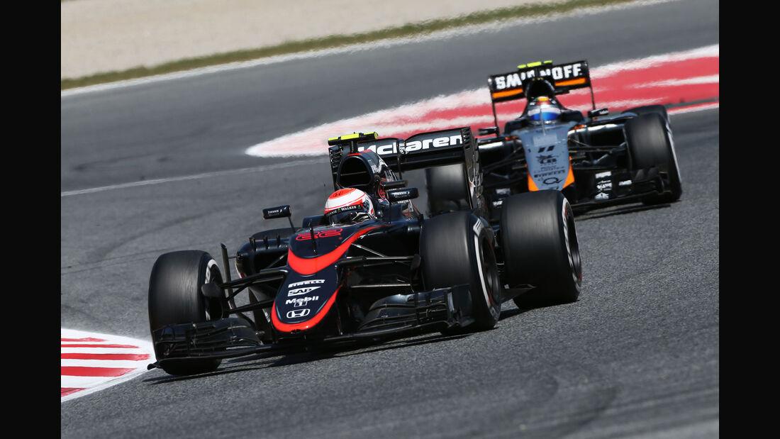 Jenson Button - McLaren-Honda - GP Spanien 2015 - Rennen - Sonntag - 10.5.2015