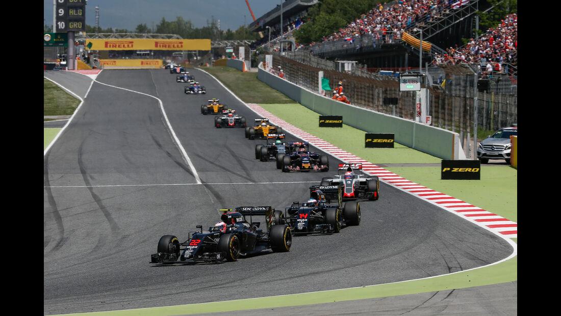Jenson Button - McLaren-Honda - GP Spanien 2016 - Barcelona - Sonntag - 15.5.2016