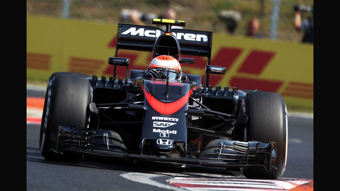 Jenson Button - McLaren-Honda - GP Ungarn - Budapest - Freitag - 24.7.2015