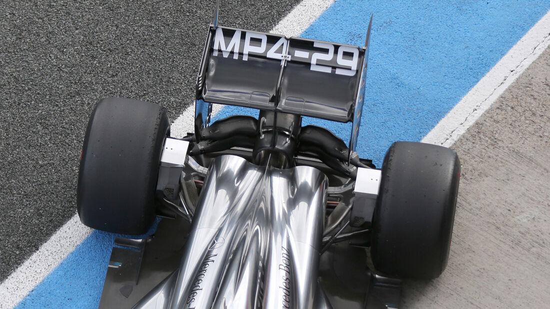 Jenson Button - McLaren - Jerez - Formel 1 - Test - 29. Januar 2014