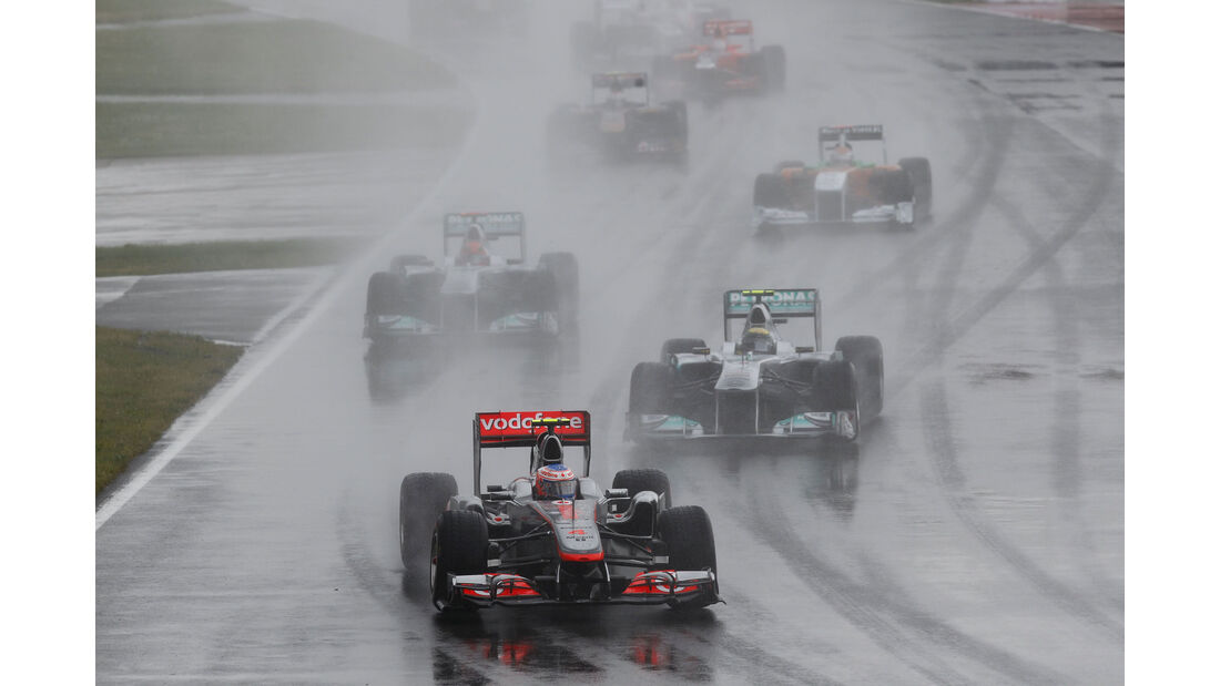 Jenson Button - McLaren MP4/26 - GP Kanada 2011