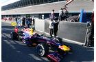 Jenson Button, McLaren, Mark Webber, Red Bull, Formel 1-Test, Jerez, 5.2.2013