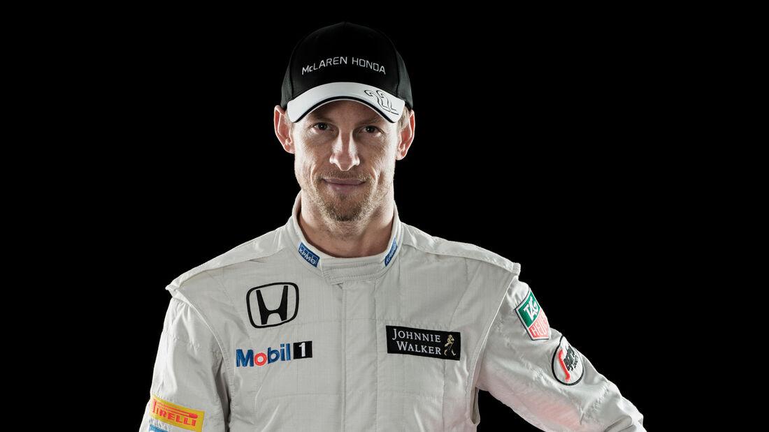 Jenson Button - McLaren - Porträt 2015