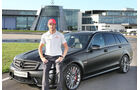 Jenson Button - Mercedes AMG C63 DR520 - Privatautos