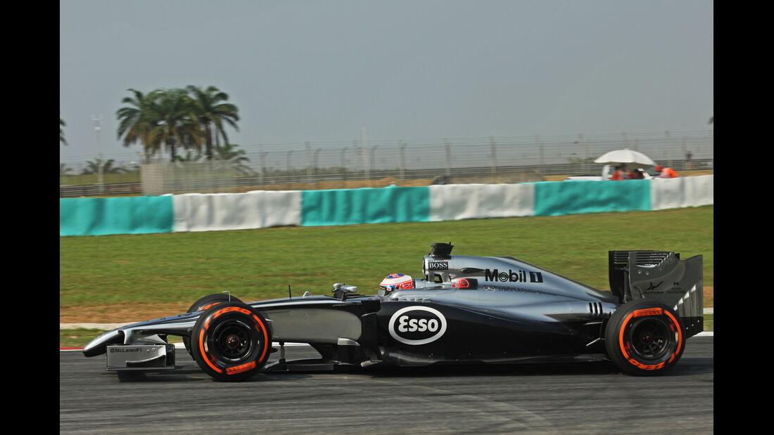 Jenson Button - Mercedes - Formel 1 - GP Malaysia - 28. März 2014