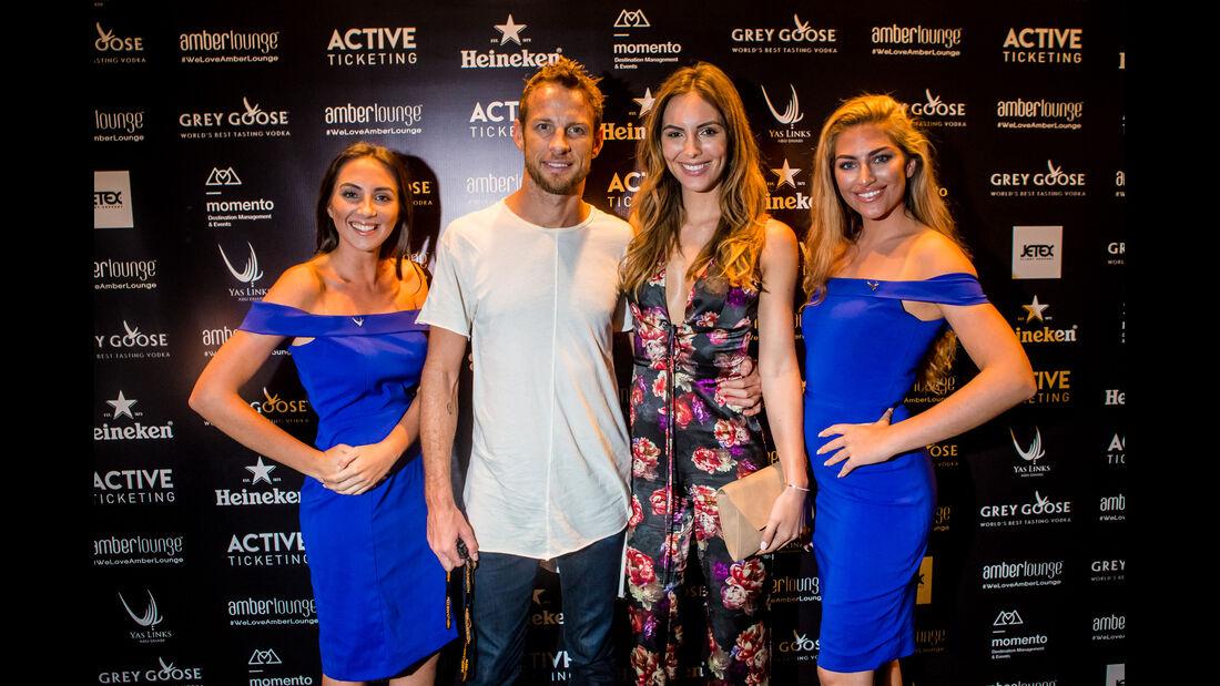 Jenson Button - Party Abu Dhabi - Amber Lounge 2016